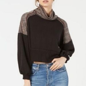 Free People  At The Lodge Turtleneck Sweater, M